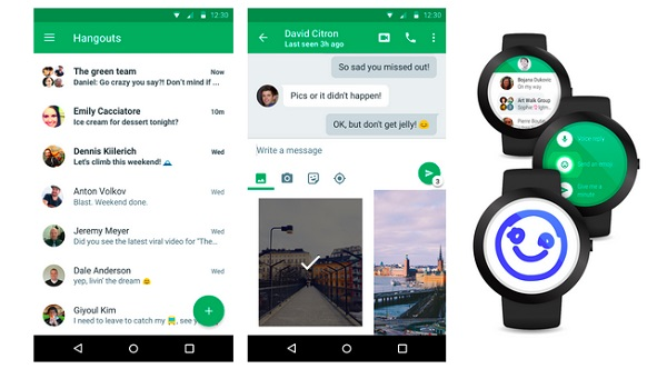 Google updates Hangouts for Android with material design and more