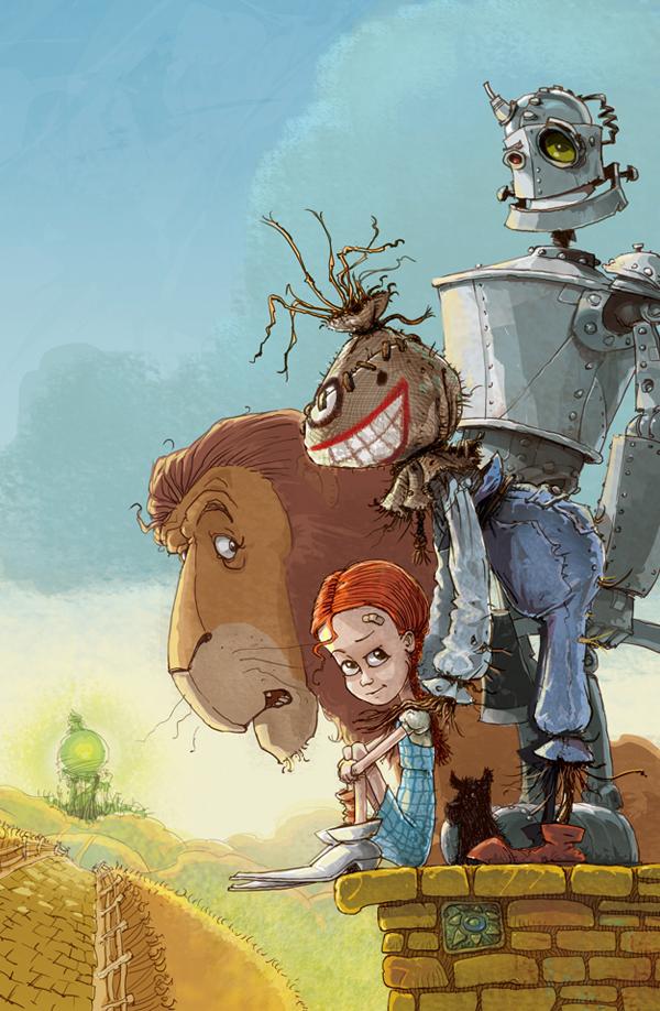 Yaniv Shimony Illustrations The Wonderful Wizard Of Oz