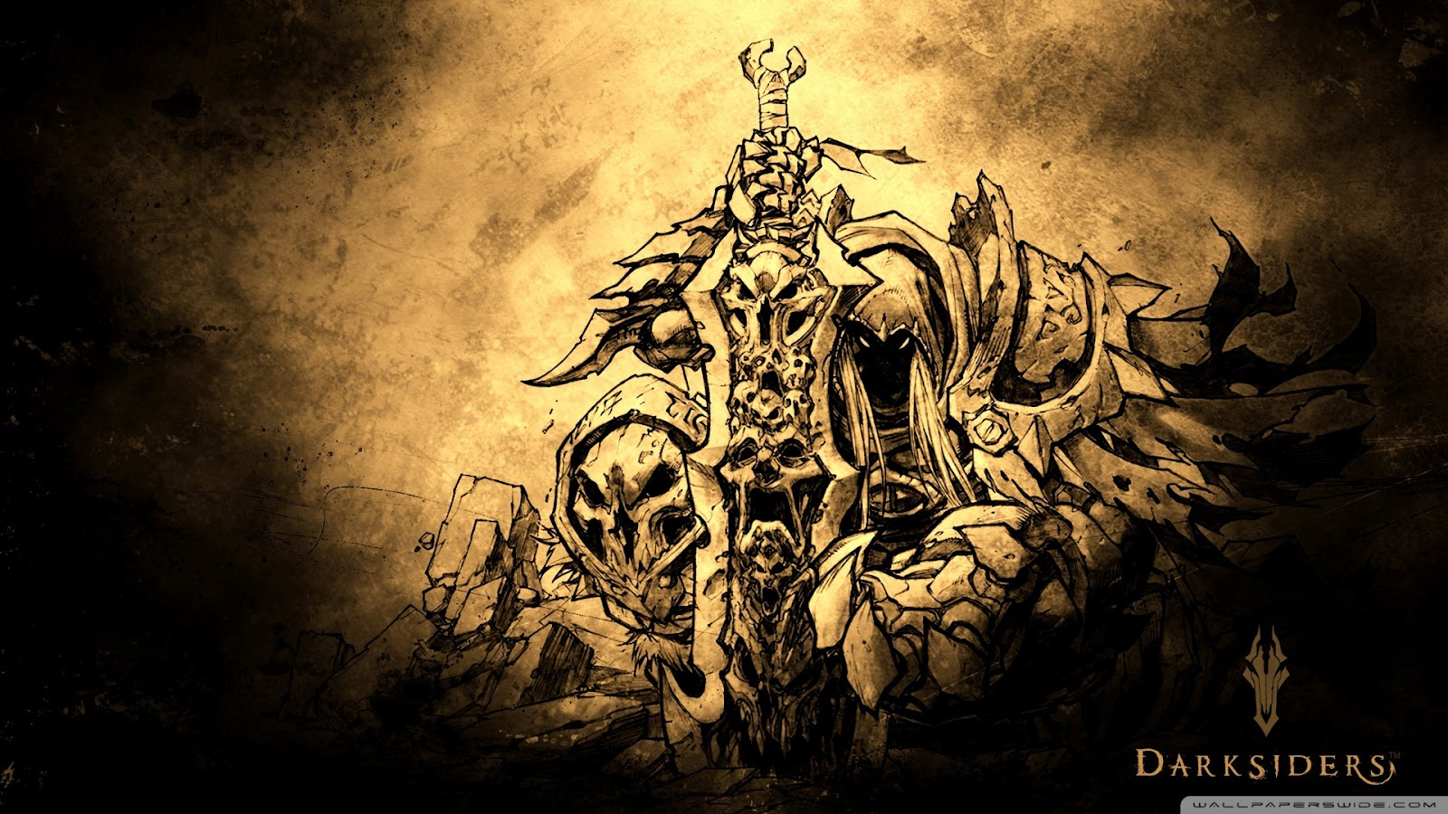 Darksiders War Wallpaper By: GameZ Hd WallpaperZ: Dark Siders II