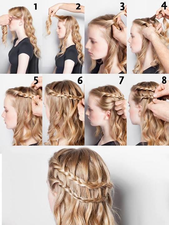 Peinados De Fiesta Faciles De Hacer Elainacortez - Como-hacer-peinados-de-fiesta-faciles-paso-a-paso
