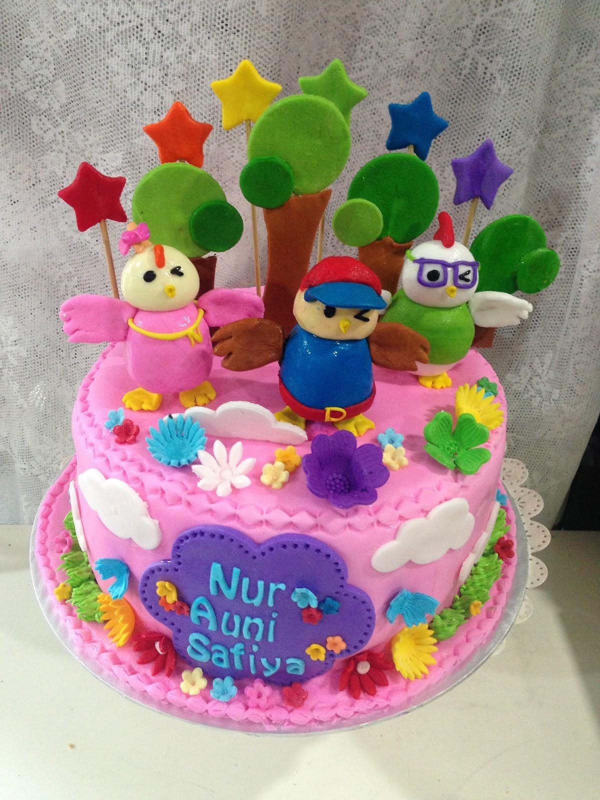 Cake Images For Didi : ninie cakes house: Didi & Friends Fondant Birthday Cake