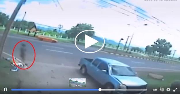 Lelaki Ini Maut Dilanggar Kereta Yg Sedang Melintas, Beberapa Saat Selepas Kematiannya Ternampak Satu Lembaga Dipercayai Roh Kepada Simati, Lihat Apa Yg Dilakukan Roh Tersebut Beberapa Saat Selepas Kemalangan