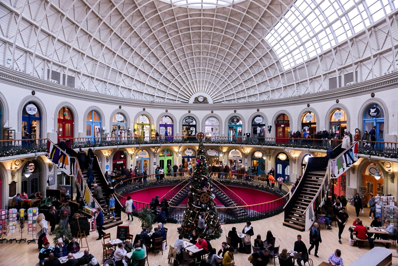 leeds corn exchange: travel guide: 12 hours in Leeds