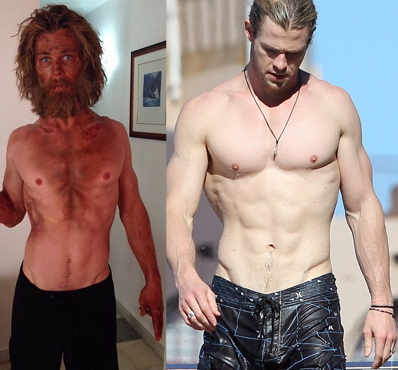 Chris Hemsworth loses shocking weight for Sea movie role ...