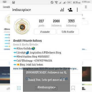 lexhansplace hits 2000 followers on instagram