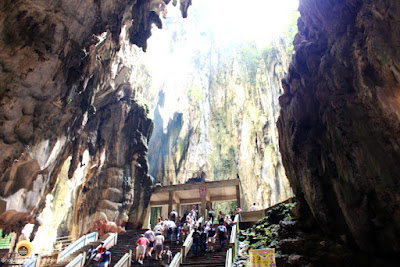 Batu Caves Temple Cave Interior, KL. Best places to visit in Kuala Lumpur in two days. NBAM blog