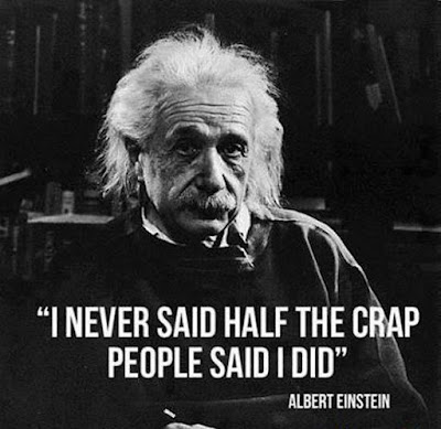 Funny Einstein Quotes Joke Picture