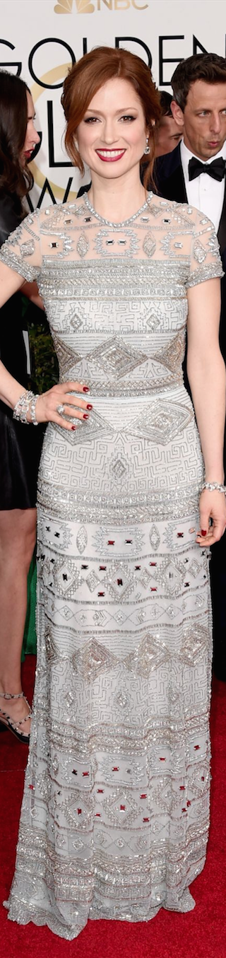 Ellie Kemper 2015 Golden Globe Awards