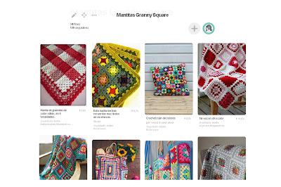 https://es.pinterest.com/pilarinaamano/mantitas-granny-square/