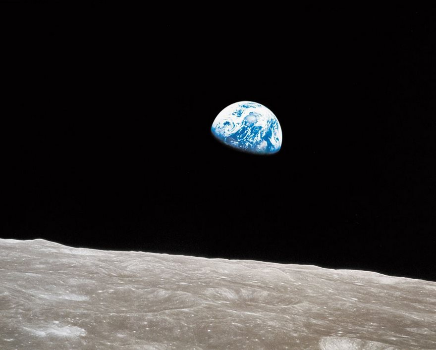 Earthrise, William Anders, NASA, 1968