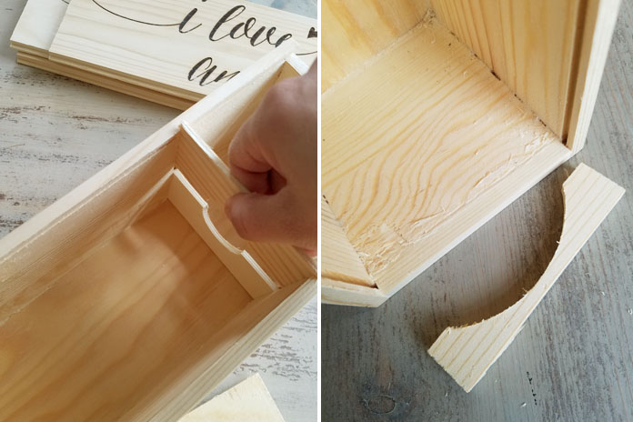 how to build little wooden drawers