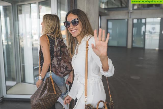Mónica Naranjo, primera artista del Isla Bonita Love Festival en llegar a La Palma