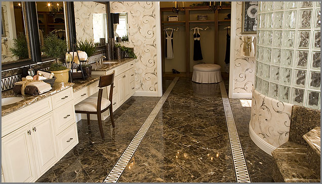Brown Marble Flooring Emperador