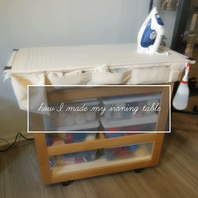 how I made my ironing table   craft.outsideofablog.info