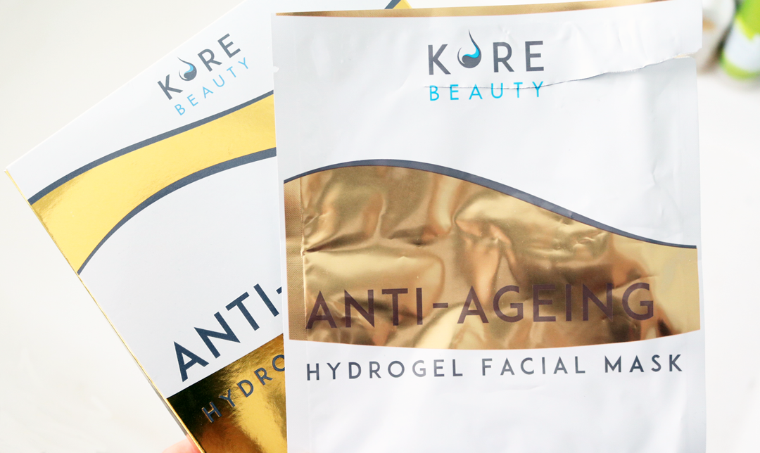 Kore Beauty Anti-Aging Hydrogel Facial Mask review
