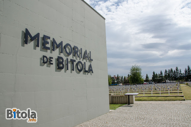 Memorial de Bitola - The memorial museum located at the French military cemetery in Bitola 1