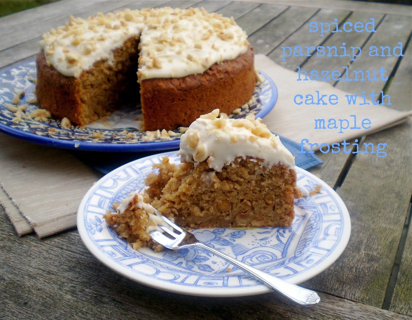 Spiced Parsnip Cake Recipe