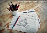 como fazer álbum de colorir