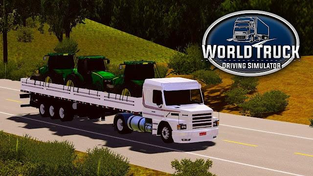 World Truck Driving Simulator v1.051 Para Hileli