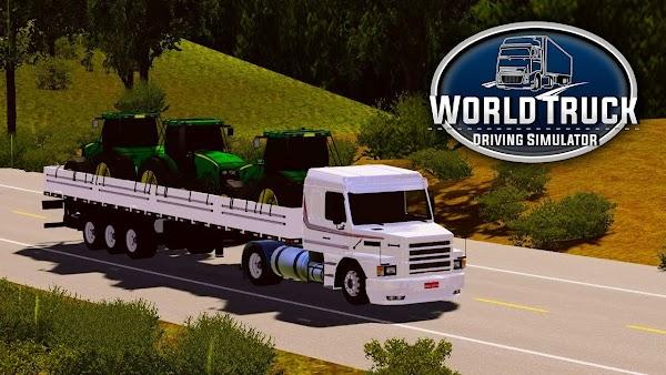World Truck Driving Simulator v1.051 Para Hileli APK