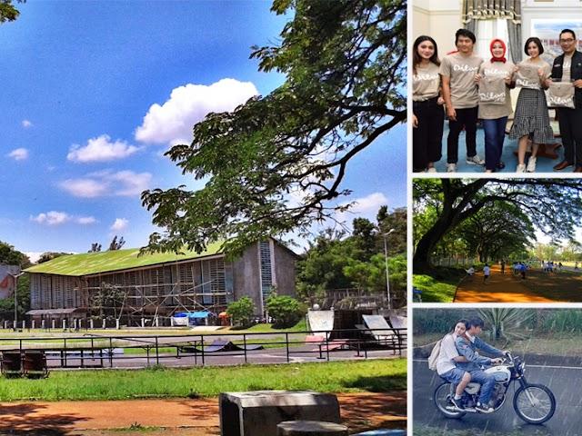 Bakal Hadir, Taman Dilan di Kawasan GOR Saparua Bandung
