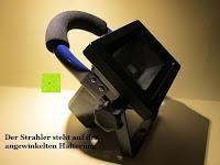 Winkel: as - Schwabe Chip-LED-Akku-Strahler 10 W, geeignet für Außenbereich, Gewerbe, blau, 46971