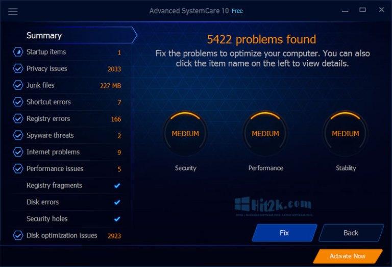 Advanced SystemCare Pro 10.1 Key Plus Crack Full Version Here!