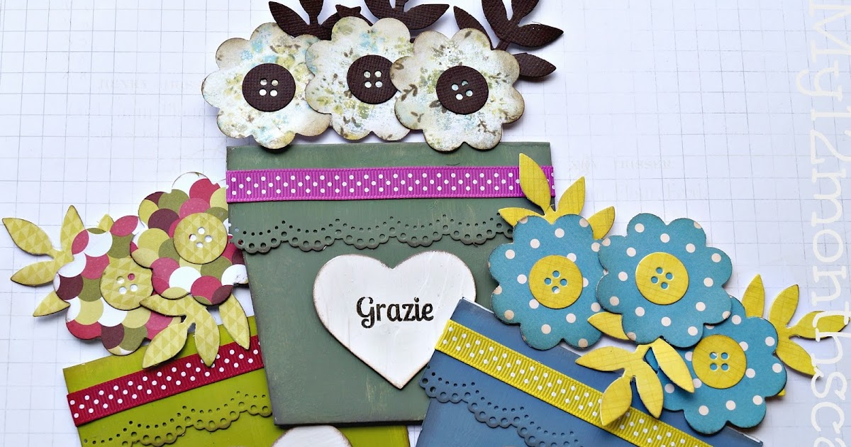 MY 12 MONTHS OF CARDS: Grazie alle tate!
