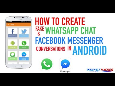 How to Make Whatsapp Fake Chat Conversation ~ Sab hindi solution