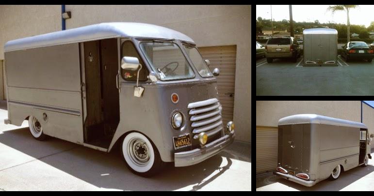 CARTICULAR: Craigslist Find: Bagged '54 Chevy Step Van