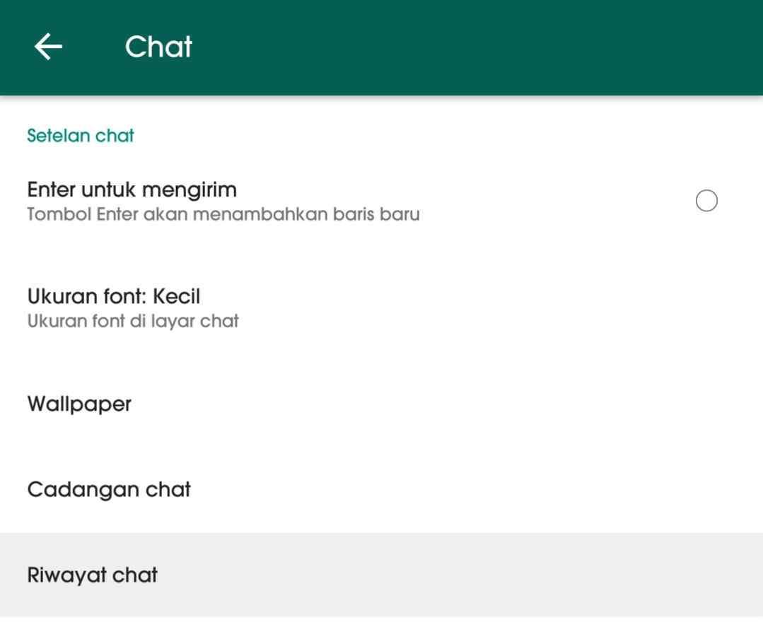 Cara mengetahui orang yang sering chat dengan pacar kamu di WhatsApp 3