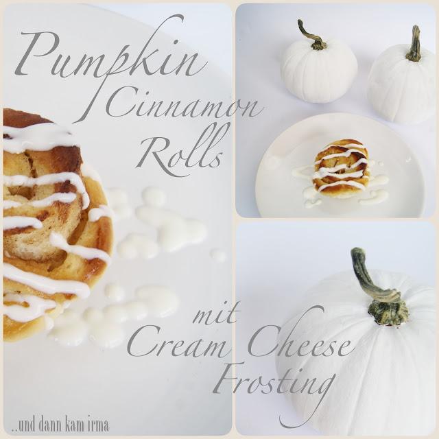 Halloween Kürbis, Nightmare before Christmas, DIY, Tutorial, Rezept, Kürbis Zimtschnecken, Pumpkin Cinnamon Rolls, Cream Cheese Frosting, Halloween Deko,