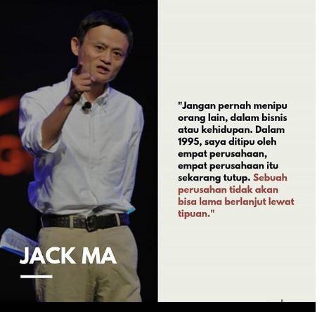 80 Kata Motivasi Jack Ma Pendiri Alibaba Group Yosefpedia Com