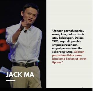 80 kata motivasi Jack Ma, pendiri Alibaba Group