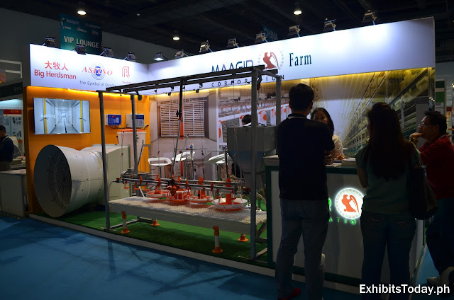 Maagir Farm Corporation Exhibit Booth