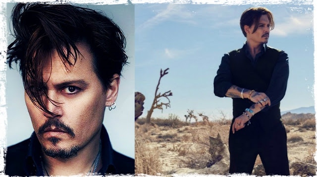 O JOHNNY DEPP ΔΙΑΦΗΜΙΖΕΙ ΤΟ NEO ΑΡΩΜΑ ΤΟΥ OIKOY DIOR