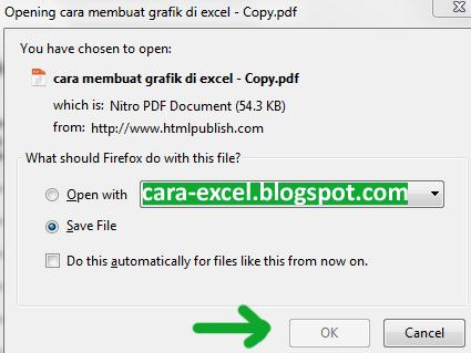Cara Merubah Excel ke PDF Online