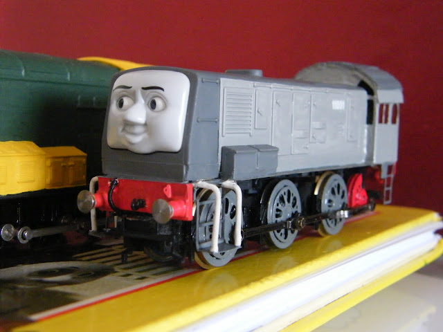 The World of Thomas The Tank Engine Modelling October 2012