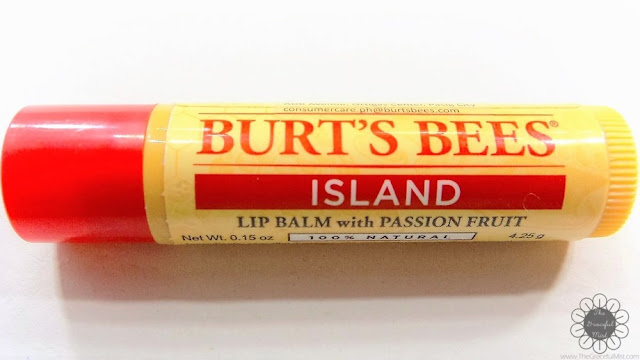 Burt`s Bees Philippines Lip Balms | Product Review and Top Picks - Island Lip Balm with Passion Fruit - Ingredients (http://www.thegracefulmist.com/2016/10/Burts-Bees-Philippines-Natural-Lip-Balms-Products-Reviews-SampleRoomPh.html)