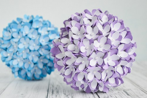 tiệc xinh 360, handmade, quả cầu hoa giấy, hoa giấy