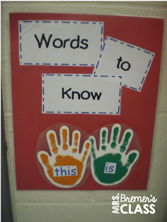 A FUN Way to Incorporate Daily Sight Word Practice in Kindergarten!
