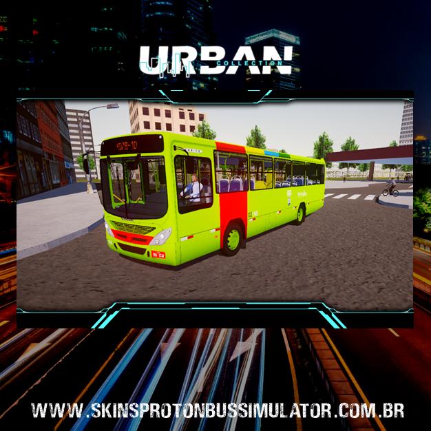 Skin Proton Bus Simulator - Torino 07 MB OF-1519 BT5 Transportes São Cristovão