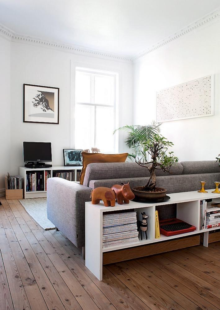 11 fotos con ideas de decoraci n para detr s del sof - Decorar pared sofa ...