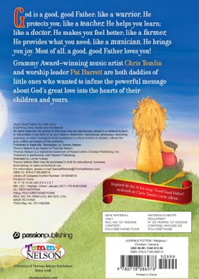 Back of Book: Good Good Father for Little Ones