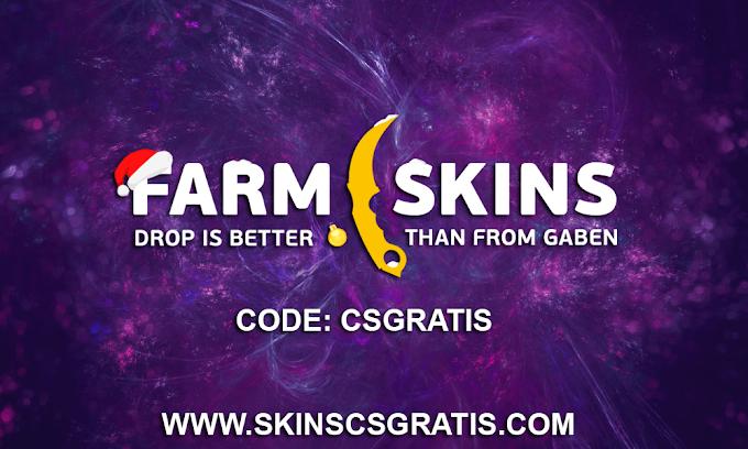 FARMSKINS.COM | ABRA CAIXAS GRATIS | GANHE $1,05 FREE