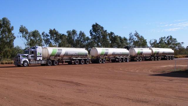 Caminhão mais longo do mundo