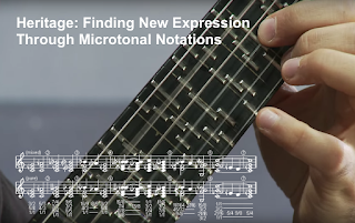 Music Visualisation: Heritage Finding New Expression Through Microtonal Notations #VisualFutureOfMusic #WorldMusicInstrumentsAndTheory