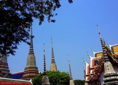 Wat Pho, o Templo do Buda Reclinado em Bangkok - Tailândia