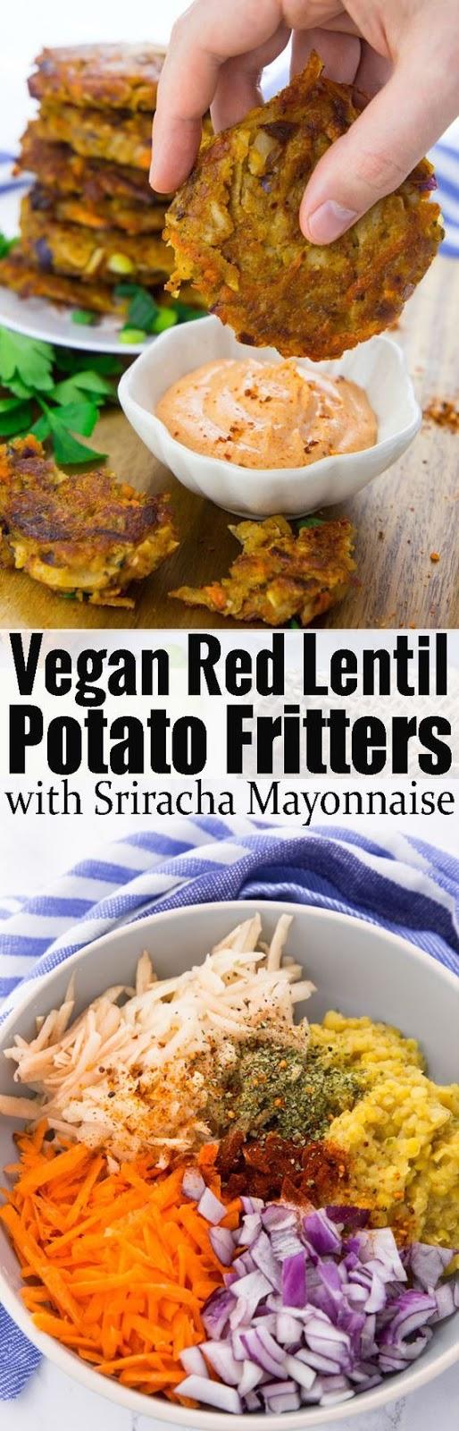 Vegetable Potato Fritters!!!