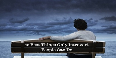 Things Only Introvert People Can Do